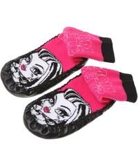 Monster High Haussocken pink in Größe 27-30 für Mädchen aus Obermaterial: 75% Baumwolle 23 % Polyamid 2 % Elastan Außenrand: 100 % Polyurethan Sohle: 86% Baumwolle 14% Viskose