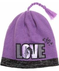 Disney Violetta Mütze violett in Größe 52 für Mädchen aus 100% Polyacryl