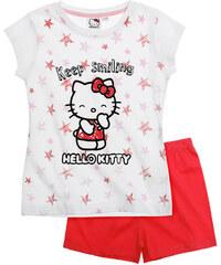 Hello Kitty Shorty-Pyjama rot in Größe 104 für Mädchen aus 100% Baumwolle