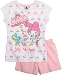 My Melody Shorty-Pyjama rosa in Größe 92 für Mädchen aus 100% Baumwolle