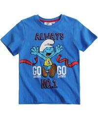 Die Schlümpfe T-Shirt blau in Größe 104 für Jungen aus 100% Baumwolle