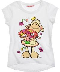 Nici T-Shirt weiß in Größe 104 für Mädchen aus 100% Baumwolle