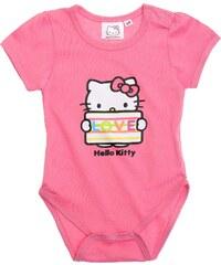 Hello Kitty Body rosa in Größe 3M für Mädchen aus 100% Baumwolle