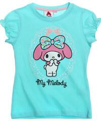 My Melody T-Shirt türkis in Größe 92 für Mädchen aus 100% Baumwolle