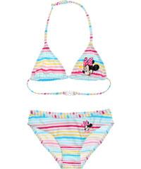 Disney Minnie Bikini weiß in Größe 104 für Mädchen aus Vorderseite: 82% Polyester Rückseite: 82% Polyamid
