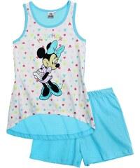 Disney Minnie Shorty-Pyjama mintgrün in Größe 104 für Mädchen aus 100% Baumwolle