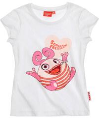 Sorgenfresser T-Shirt weiß in Größe 92 für Mädchen aus 100% Baumwolle