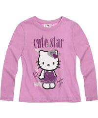 Hello Kitty Langarmshirt pink in Größe 104 für Mädchen aus 100% Baumwolle