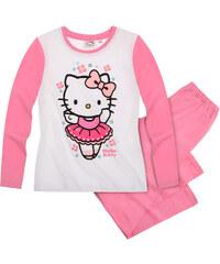 Hello Kitty Pyjama pink in Größe 98 für Mädchen aus 100% Baumwolle