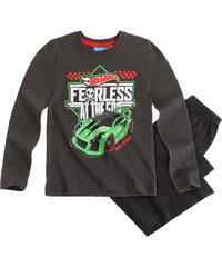 Hot Wheels Pyjama schwarz in Größe 104 für Jungen aus 100% Baumwolle