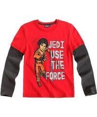 Star Wars Rebels Langarmshirt rot in Größe 116 für Jungen aus Body: 100% Baumwolle Ärmel: 60% Baumwolle 40% Polyester