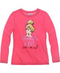 Disney Tinker Bell Langarmshirt pink in Größe 98 für Mädchen aus 100% Baumwolle