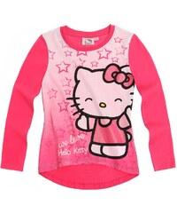 Hello Kitty Langarmshirt pink in Größe 98 für Mädchen aus 100% Baumwolle