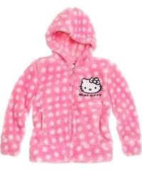Hello Kitty Coral Fleece Jacke rosa in Größe 98 für Mädchen aus 100 % Polyester