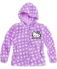 Hello Kitty Coral Fleece Jacke violett in Größe 98 für Mädchen aus 100 % Polyester
