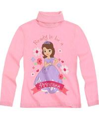 Disney Sofia die Erste Langarmshirt pink in Größe 92 für Mädchen aus 100% Baumwolle Rollkragen: 95% Baumwolle 5% Elastan