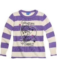 Disney Die Eiskönigin Pullover violett in Größe 104 für Mädchen aus 100% Baumwolle