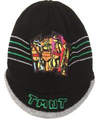 Ninja Turtles Mütze schwarz in Größe 52 für Jungen aus 100% Polyacryl