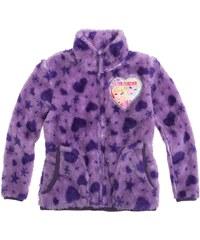 Disney Die Eiskönigin Coral Fleece Jacke violett in Größe 104 für Mädchen aus 100 % Polyester