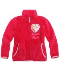 Disney Die Eiskönigin Coral Fleece Jacke pink in Größe 104 für Mädchen aus 100 % Polyester