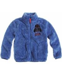 Star Wars-The Clone Wars Coral Fleece Jacke blau in Größe 116 für Jungen aus 100 % Polyester
