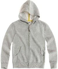 LamaLoLi Sweatjacke mit Kapuze grau in Größe 116 für Jungen aus Obermaterial: 80 % Baumwolle 20 % Polyester Kapuze: 100 % Baumwolle