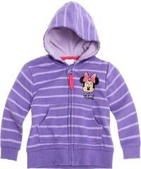 Disney Minnie Sweatjacke violett in Größe 3M für Mädchen aus 80% Baumwolle 20% Polyester