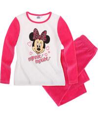 Disney Minnie Pyjama (Velours) pink in Größe 104 für Mädchen aus 80% Baumwolle 20% Polyester
