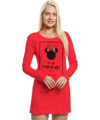 Disney Minnie Nachthemd rot in Größe S für Damen aus 100% Baumwolle