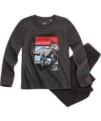 Jurassic World Pyjama schwarz in Größe 104 für Jungen aus Oberteil: 85 % Baumwolle 15 % Viskose Hose: 100% Baumwolle