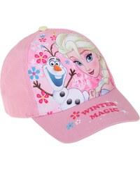 Disney Die Eiskönigin Cap pink in Größe 52 für Mädchen aus 100% Baumwolle