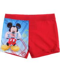 Disney Mickey Badehose rot in Größe 98 für Jungen aus 82% Polyamid 18% Elastan Fotodruck: 86% Polyester 14% Elastan