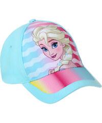 Disney Die Eiskönigin Cap blau in Größe 52 für Mädchen aus 100% Baumwolle