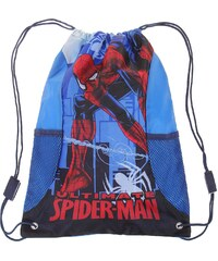 Spiderman Turnbeutel blau in Größe UNI für Jungen aus 100% Polyester