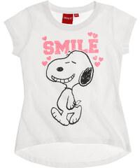 Snoopy T-Shirt weiß in Größe 116 für Mädchen aus 100% Baumwolle