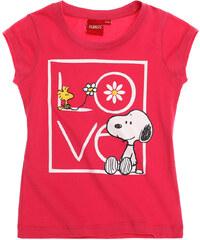 Snoopy T-Shirt pink in Größe 116 für Mädchen aus 100% Baumwolle