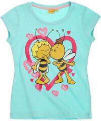 Biene Maja T-Shirt türkis in Größe 92 für Mädchen aus 100% Baumwolle