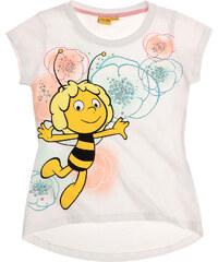Biene Maja T-Shirt weiß in Größe 92 für Mädchen aus 100% Baumwolle