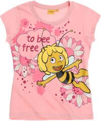 Biene Maja T-Shirt pink in Größe 92 für Mädchen aus 100% Baumwolle