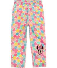 Disney Minnie Caprihose rosa in Größe 104 für Mädchen aus 95% Baumwolle 5% Elastan