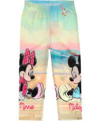 Disney Minnie Caprihose beige in Größe 104 für Mädchen aus 95% Baumwolle 5% Elastan