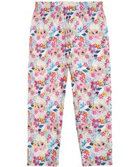 Disney Die Eiskönigin Caprihose pink in Größe 104 für Mädchen aus 95% Polyester 5% Elasthan
