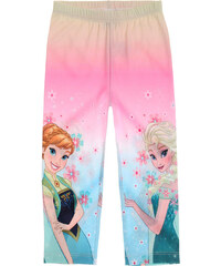 Disney Die Eiskönigin Caprihose rosa in Größe 104 für Mädchen aus 95% Polyester 5% Elasthan