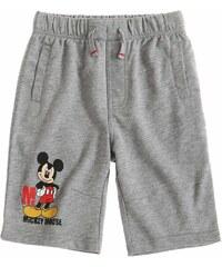 Disney Mickey Bermuda grau in Größe 98 für Jungen aus 60 % Baumwolle 40 % Polyester