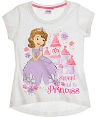 Disney Sofia die Erste T-Shirt weiß in Größe 92 für Mädchen aus 100% Baumwolle