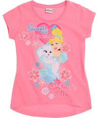 Disney Princess T-Shirt pink in Größe 92 für Mädchen aus 100% Baumwolle