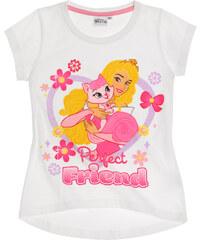 Disney Princess T-Shirt weiß in Größe 92 für Mädchen aus 100% Baumwolle