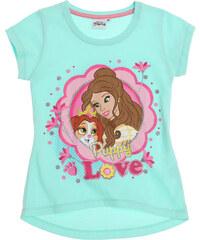 Disney Princess T-Shirt türkis in Größe 92 für Mädchen aus 100% Baumwolle