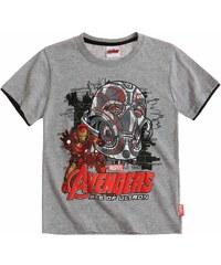 Avengers Assemble T-Shirt grau in Größe 116 für Jungen aus 60 % Baumwolle 40 % Polyester