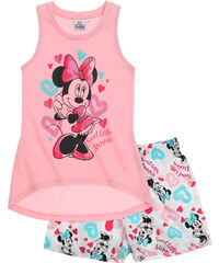 Disney Minnie Shorty-Pyjama rosa in Größe 104 für Mädchen aus 100% Baumwolle